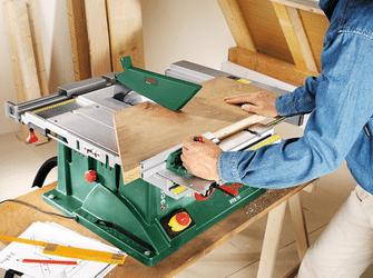 Avantages scie circulaire à table Bosch PTS 10